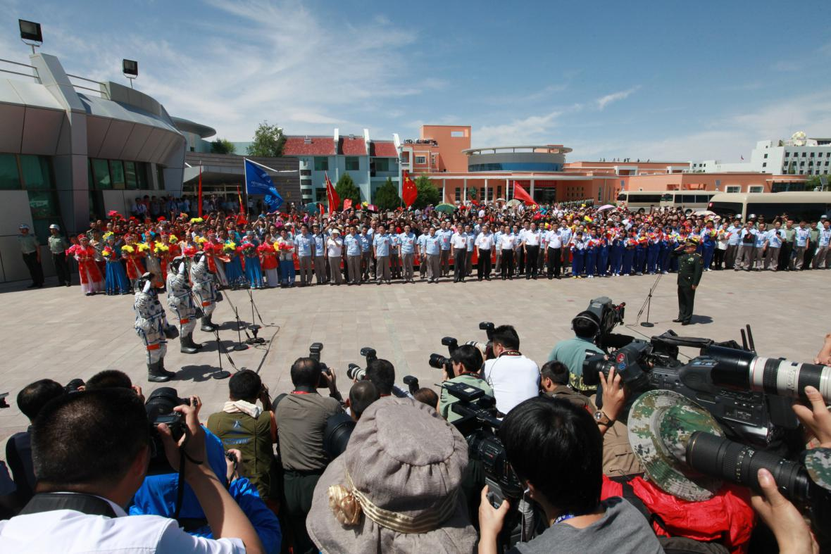 Ceremoniál před odletem
