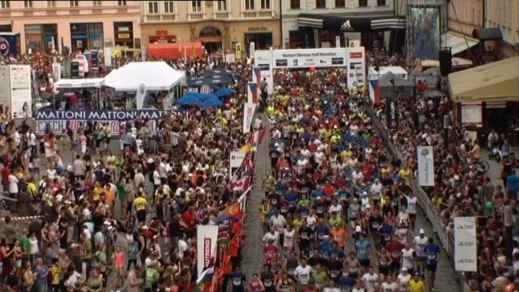 Start půlmaratonu