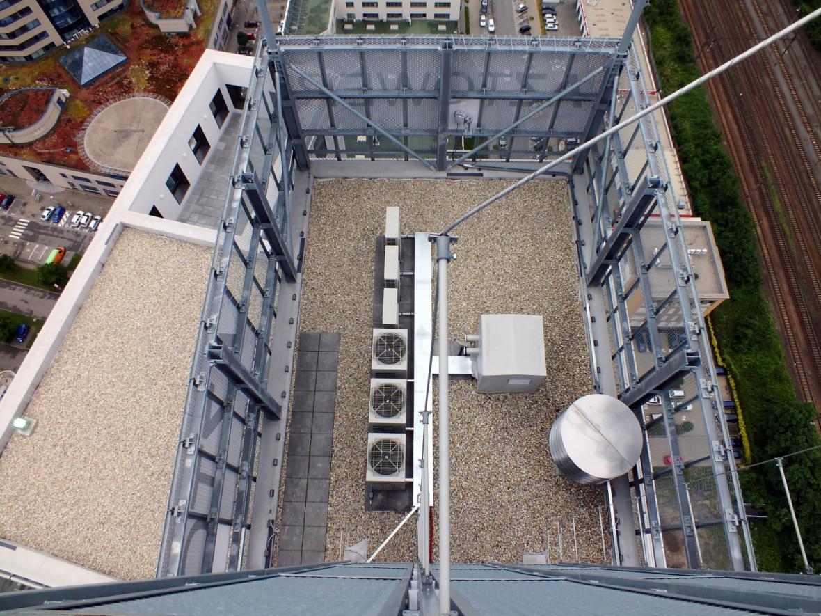 Vzduchotechnika budovy