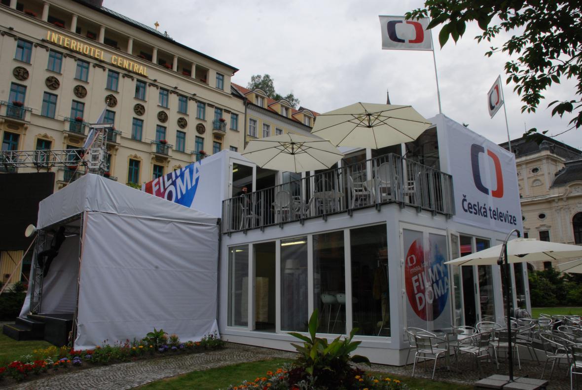 Dům ČT na 48. MFF Karlovy Vary