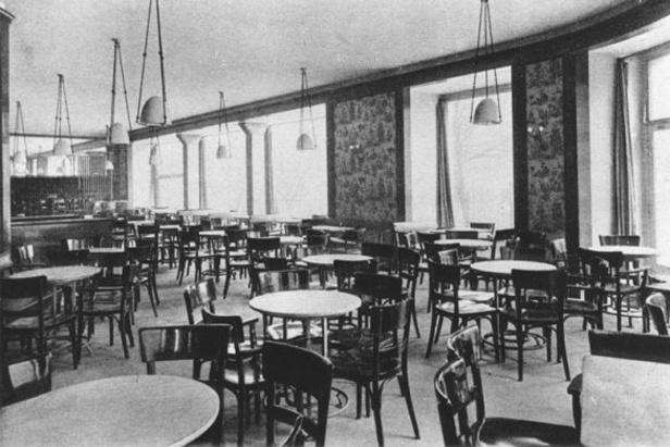 Zaniklá prvorepubliková kavárna Esplanade
