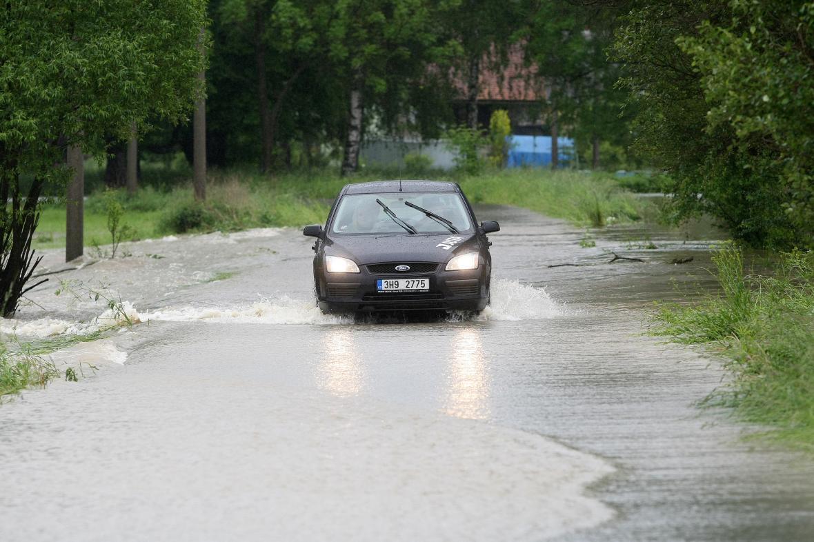 Povodně ve Višňové