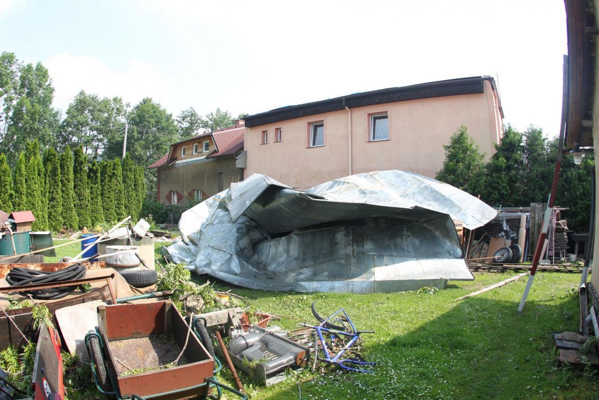 Škody po bouři
