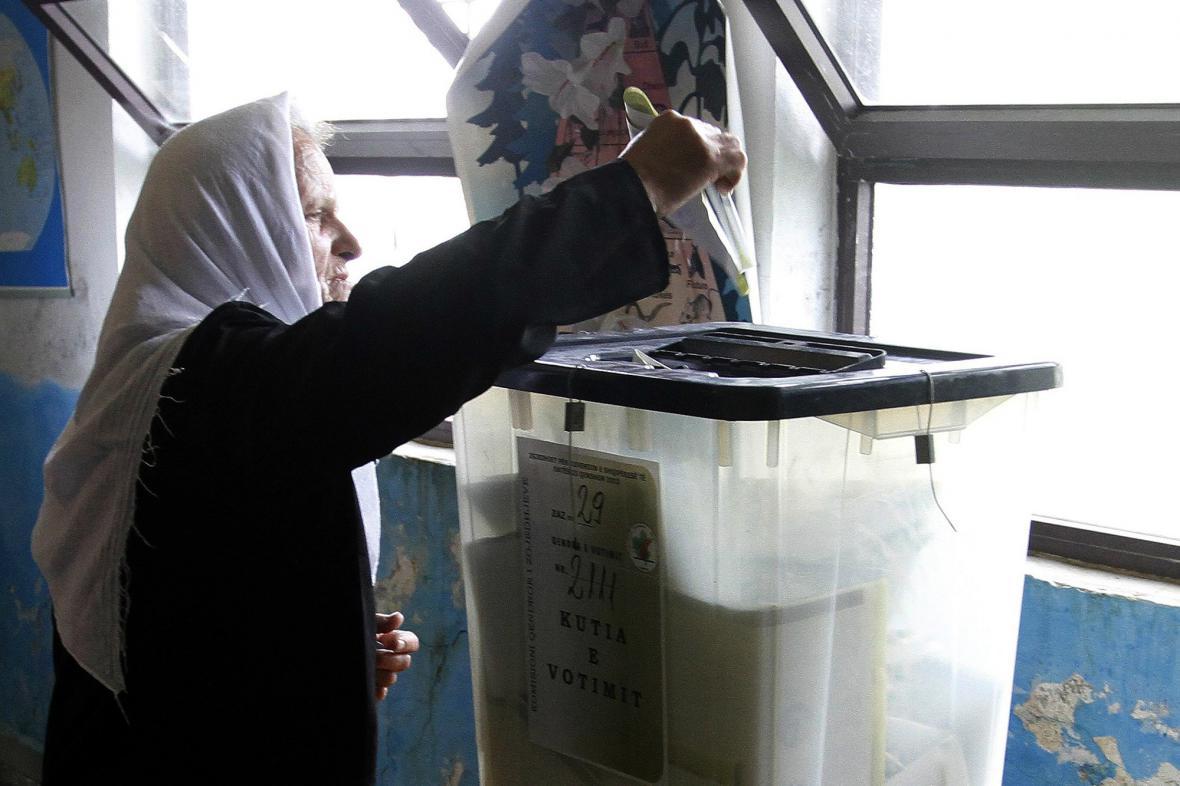 Albánské volby