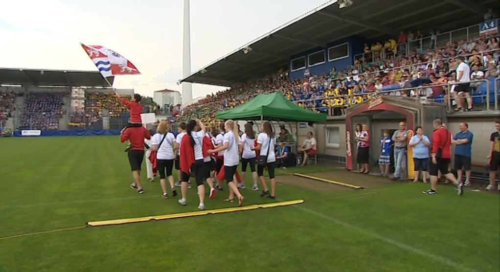 Zahájení VI. letní olympiády dětí a mládeže v Uh. Hradišti