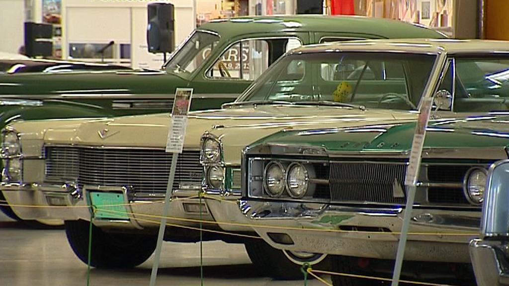 Výstava amerických automobilů