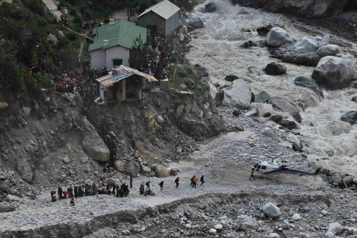 Mohutné monzuny způsobily v Indii záplavy