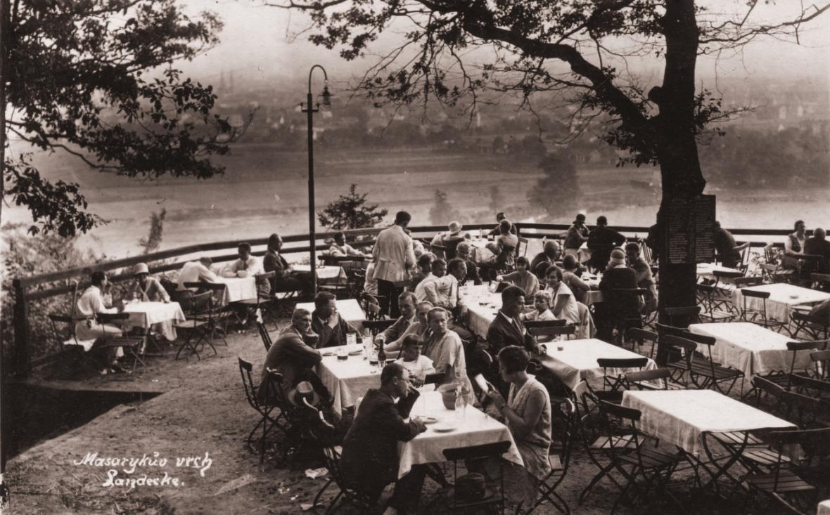 Bývalá výletní restaurace na Landeku