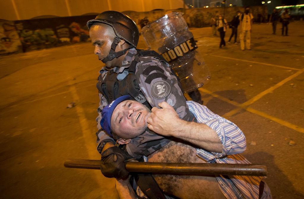 Čtvrteční zásah policie v Riu de Janeiru