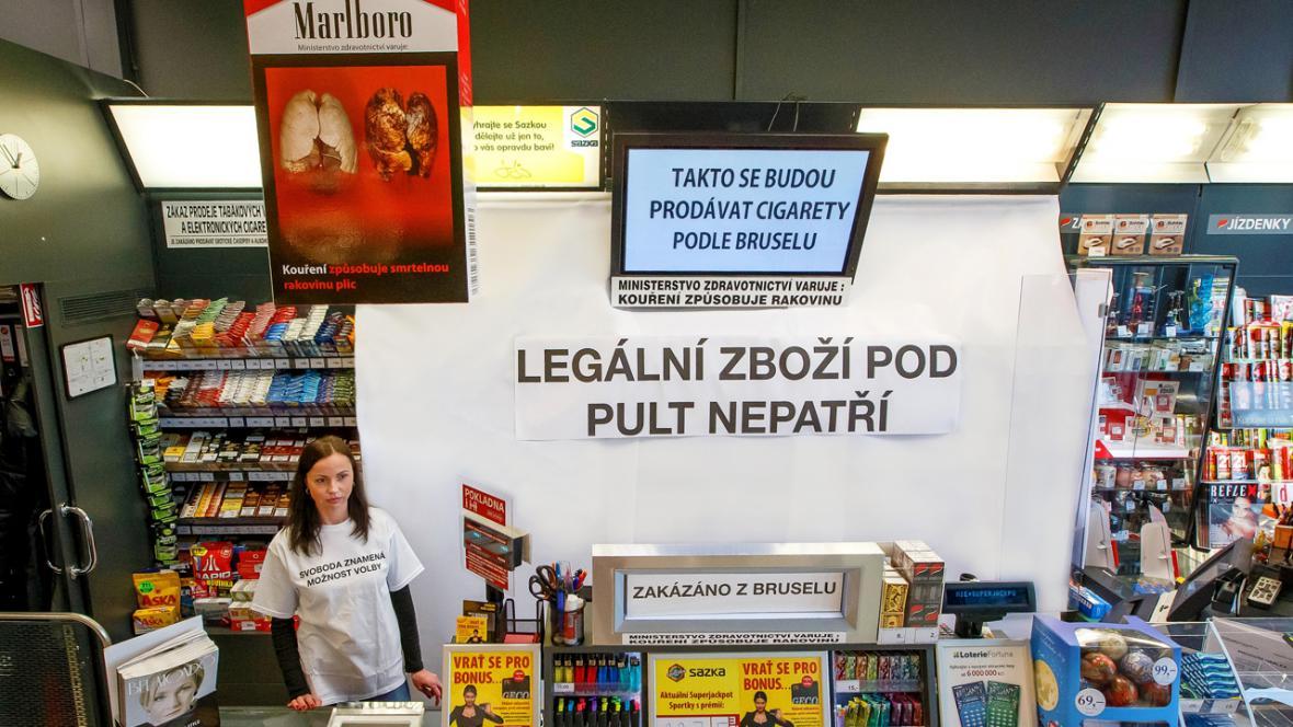 Prodej cigaret podle novely evropské směrnice