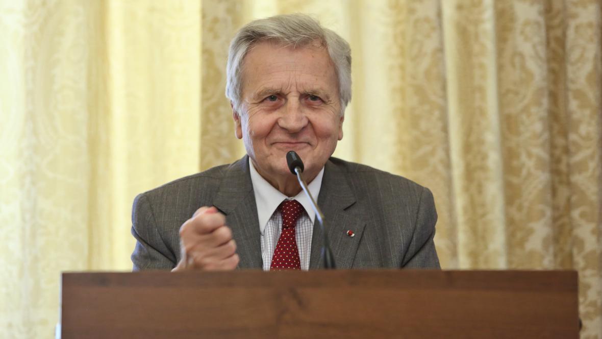 Jean-Claude Trichet v Praze