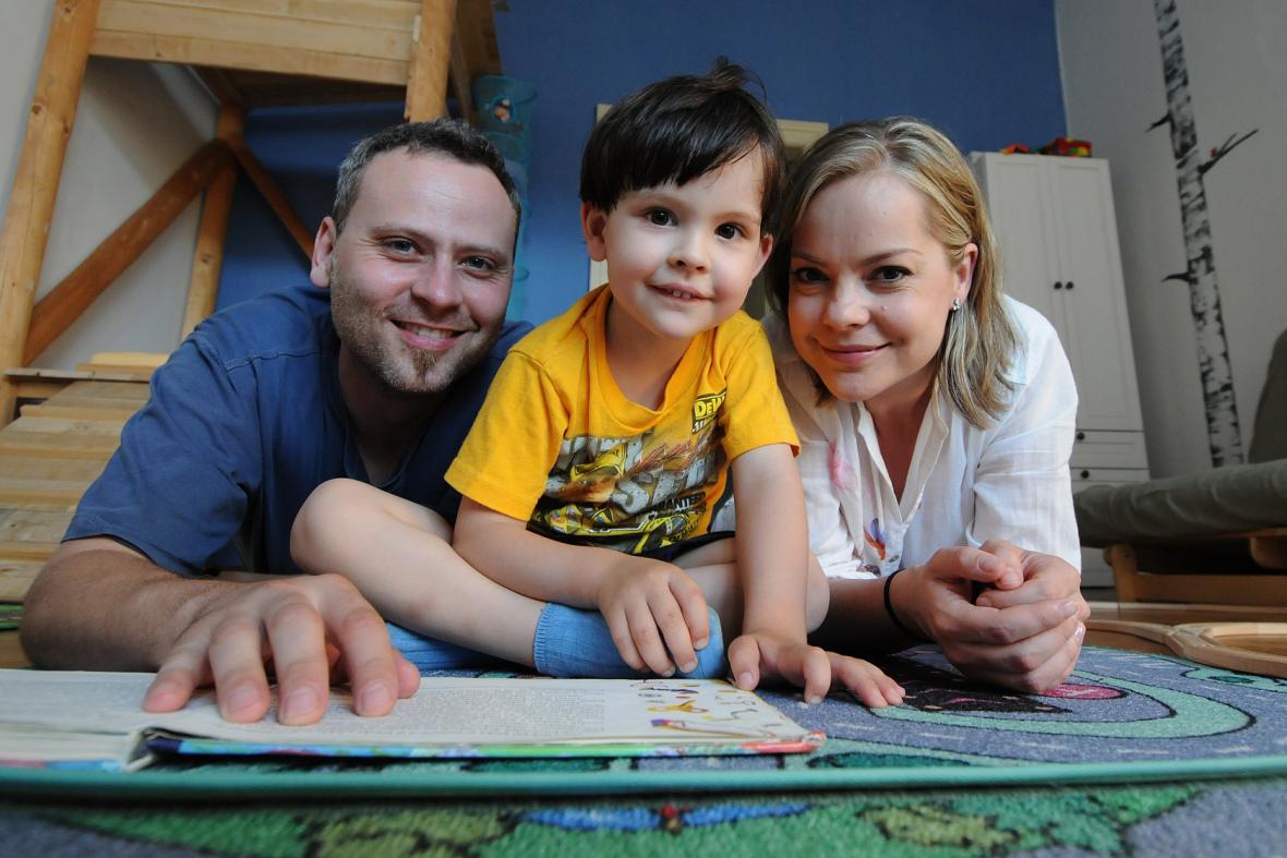 Celé Česko čte dětem: Kačmarští