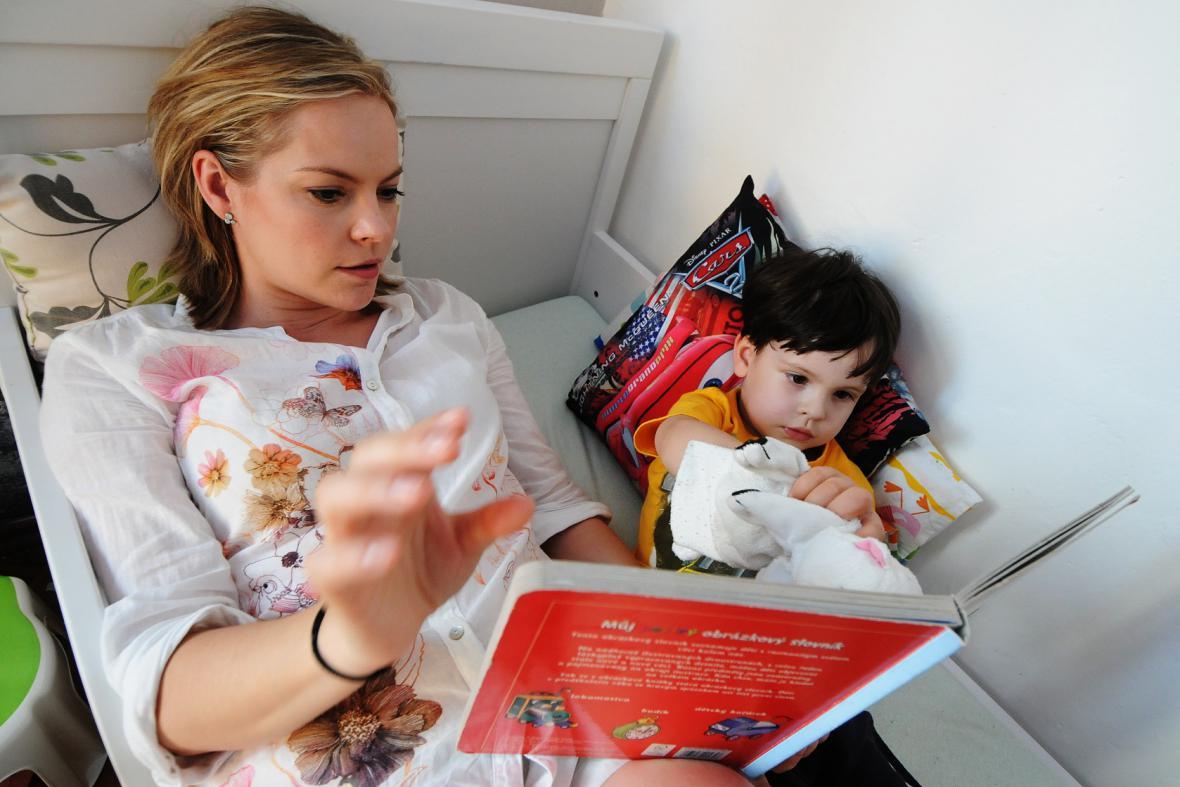 Celé Česko čte dětem: Kristina Kačmarská