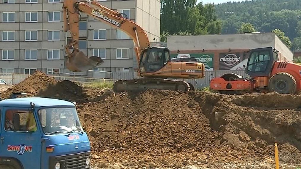 Stavba nového vědeckého centra ve Zlíně