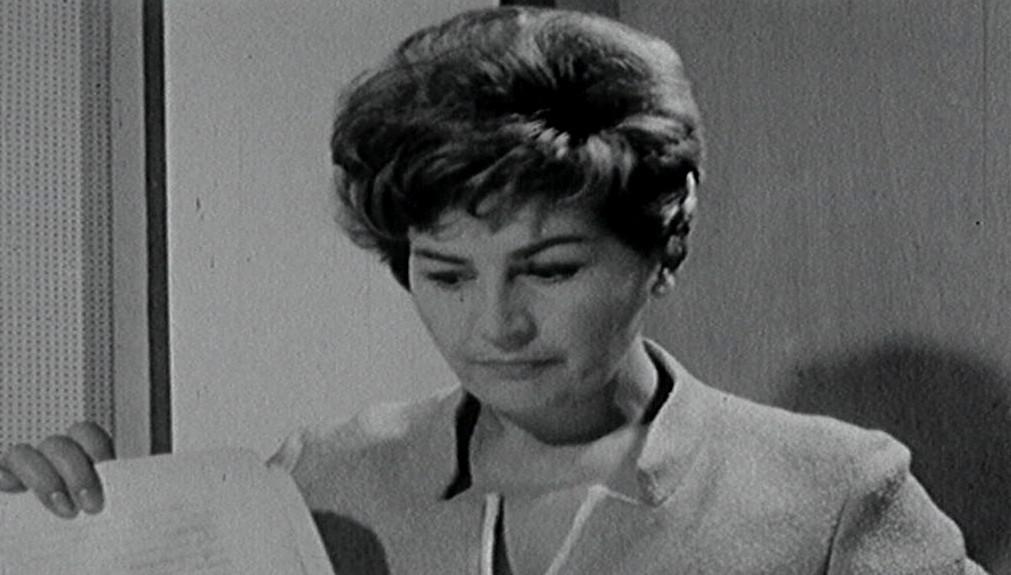Kamila Moučková ve vysílání Československé televize