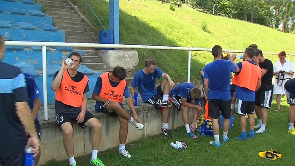 Znojemští fotbalisté začali s přípravou na nejvyšší soutěž