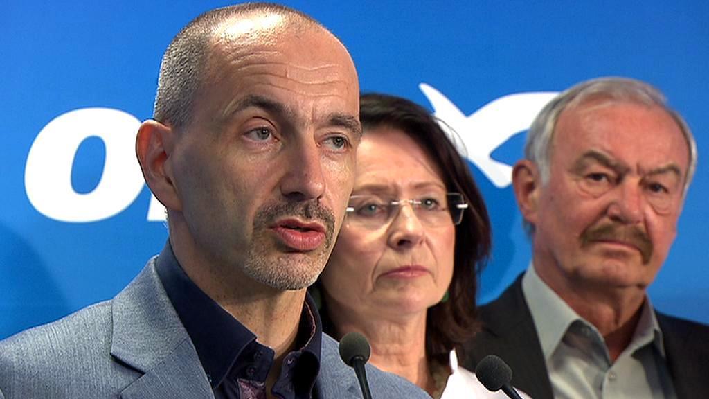 Martin Kuba, Miroslava Němcová a Přemysl Sobotka
