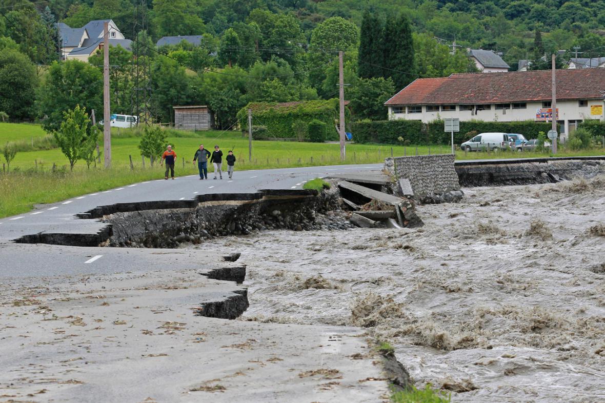 Záplavy ve Francii