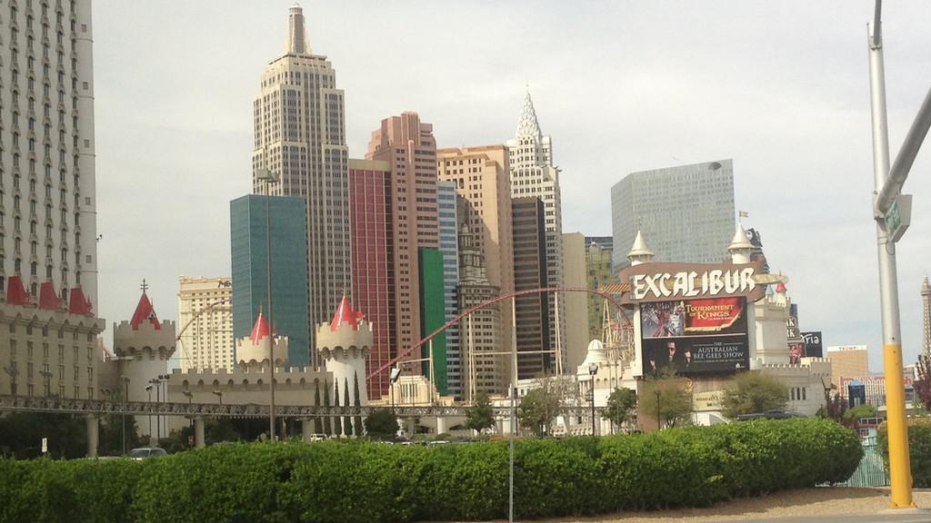 Las Vegas je zajímavé i ve dne