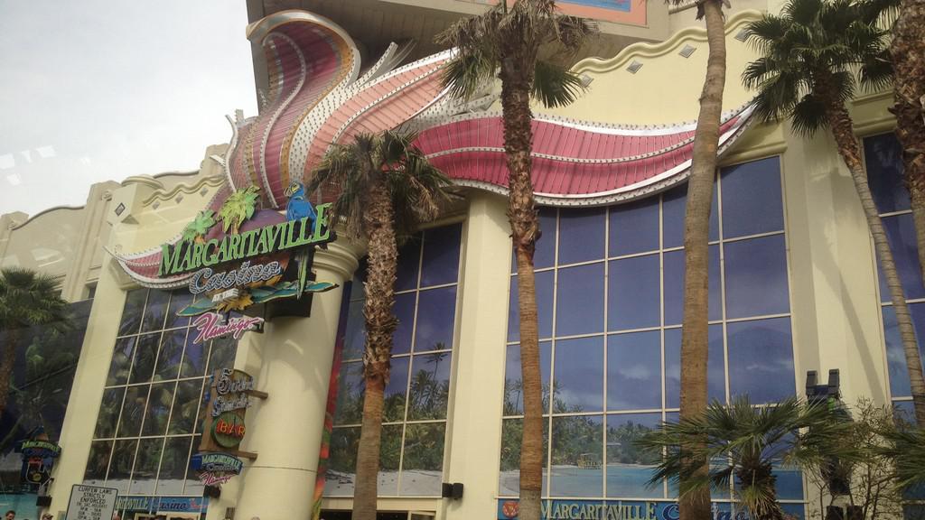 Nápaditý vzhled kasina Margaritaville