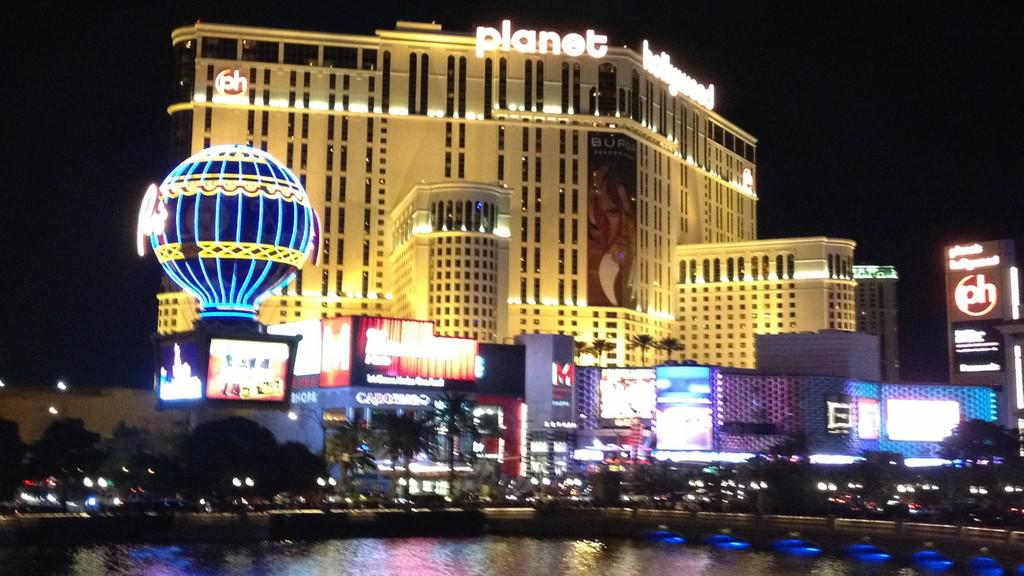 Noční tvář Las Vegas