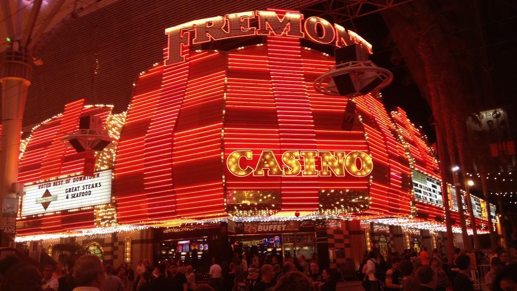 Přitažlivá tvář kasina ve čtvrti Fremont