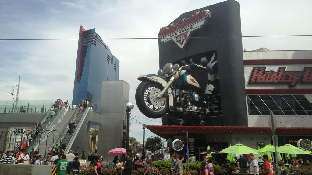 Americký symbol Harley Davidson