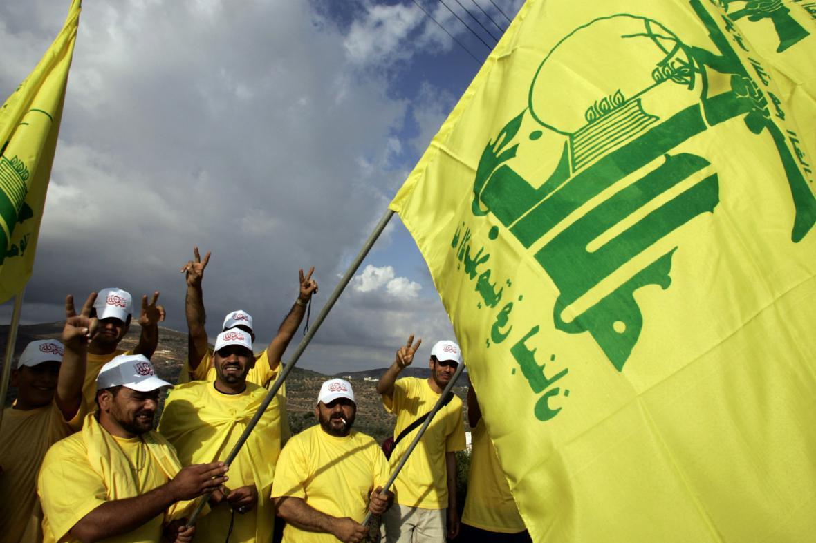Příznivci Hizballáhu