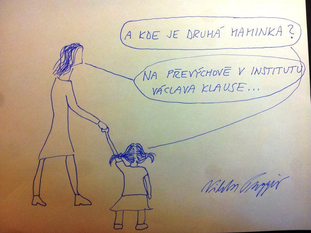 Kresba Viktora Paggia