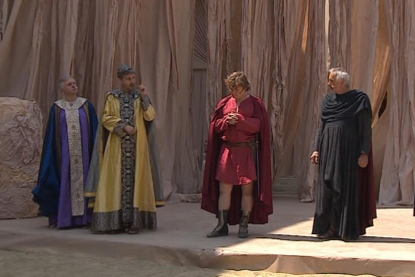 Představení Městského divadla Brno Cyril a Metoděj