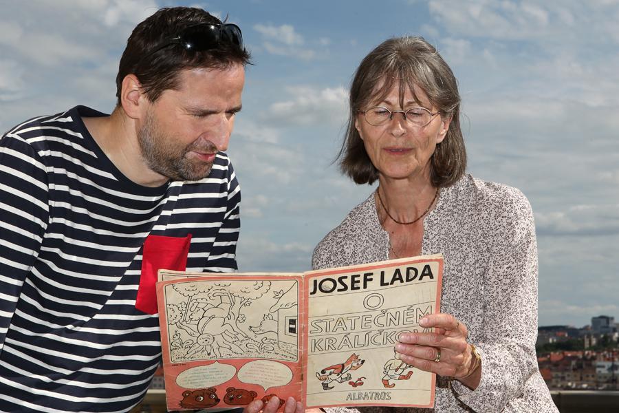 Robert Záruba s maminkou