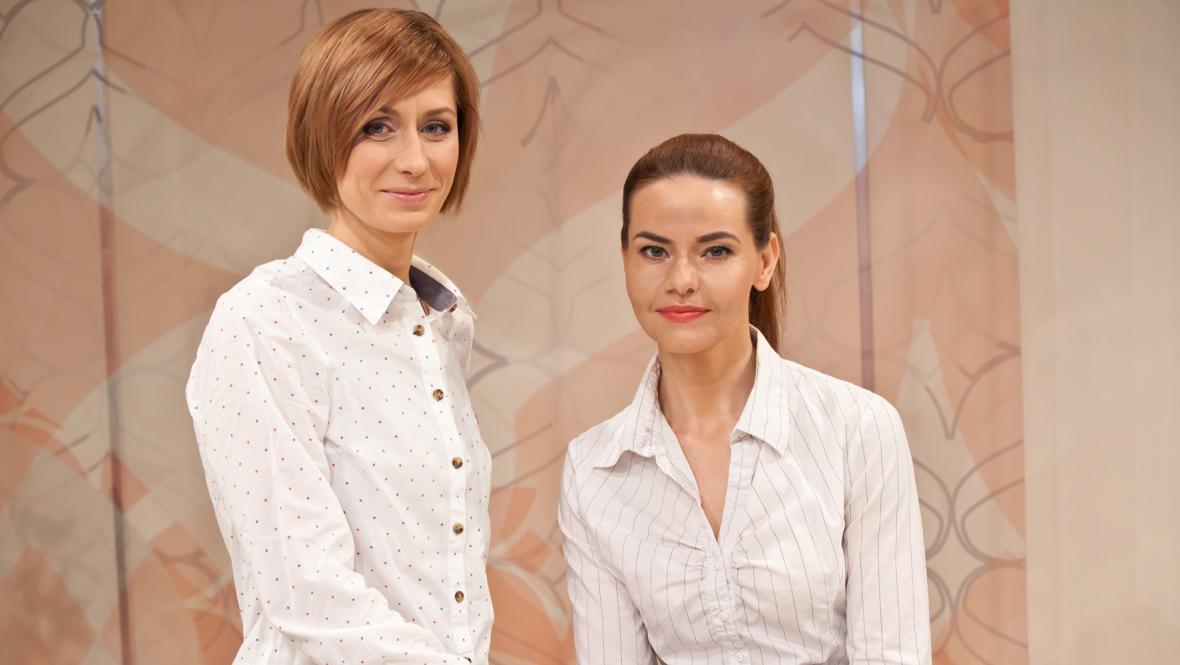 Jana Bohušová a Linda Bendová