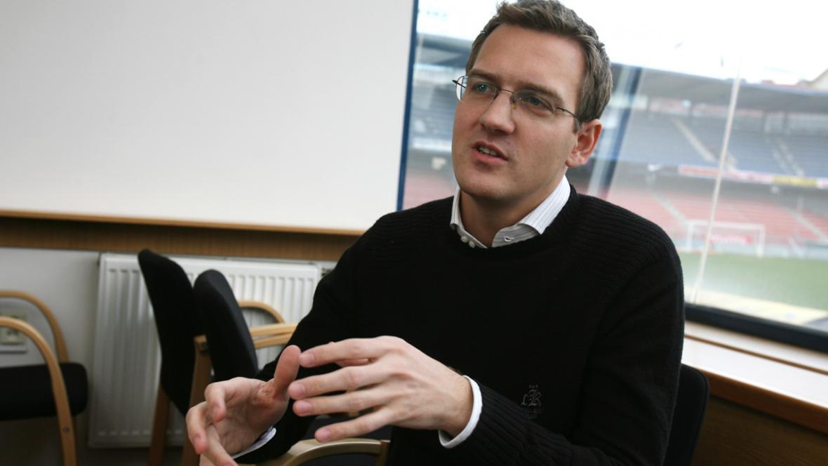 Majitel fotbalové Sparty Daniel Křetínský