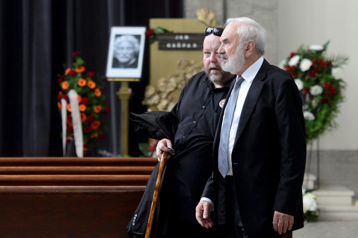 Poslední rozloučení s Janem Kašparem