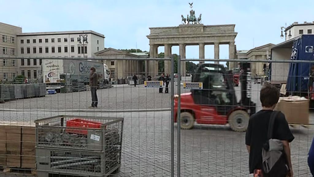 Berlín se chystá na návštěvu Baracka Obamy