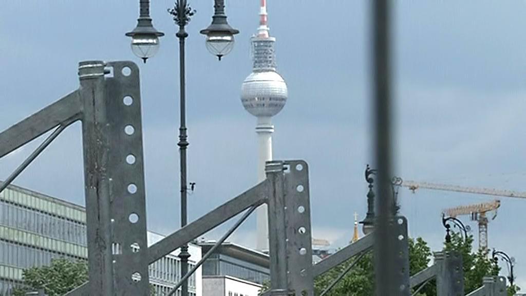 Berlínské přípravy na návštěvu Baracka Obamy