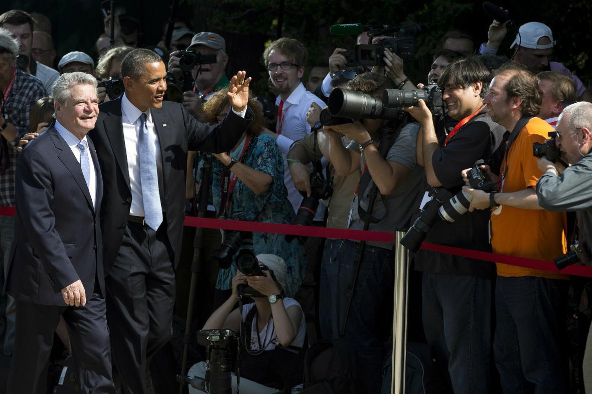 Barack Obama a Joachim Gauck