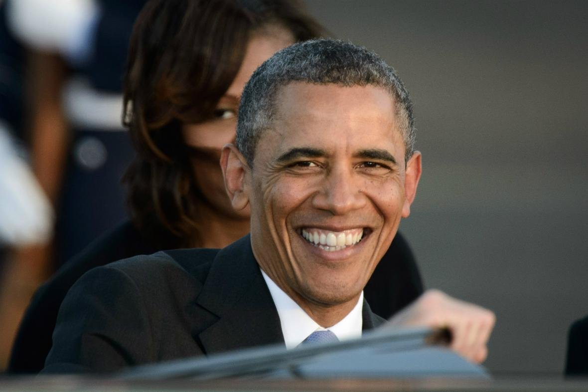 Obama v Berlíně