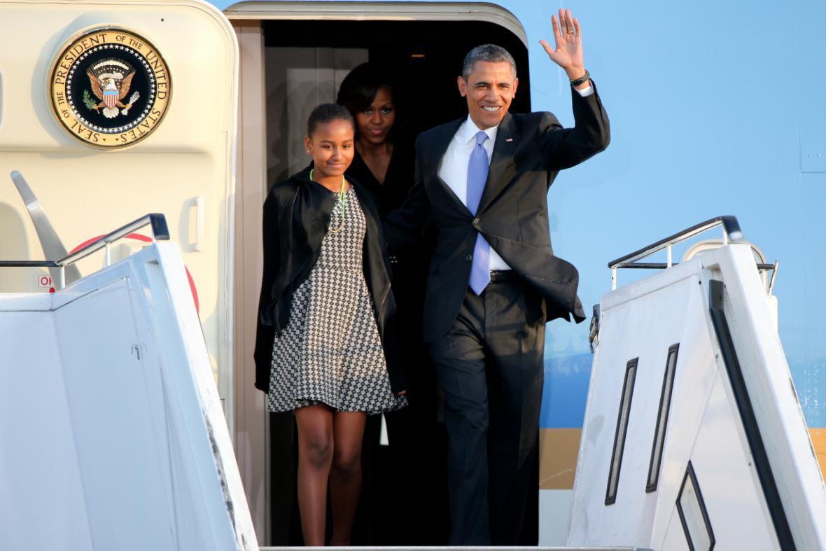 Obama dorazil do Berlína
