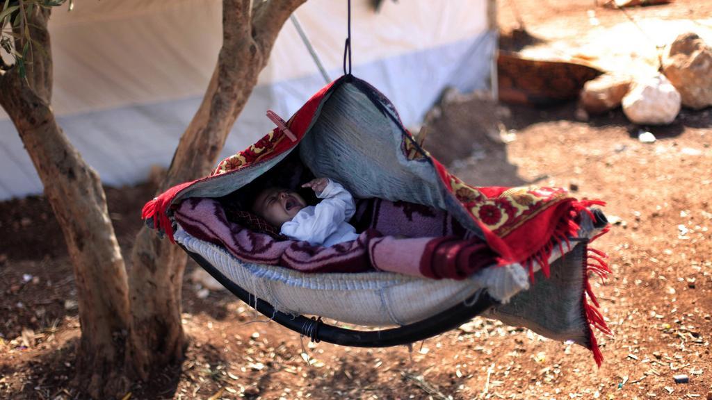 Syrský uprchlický tábor