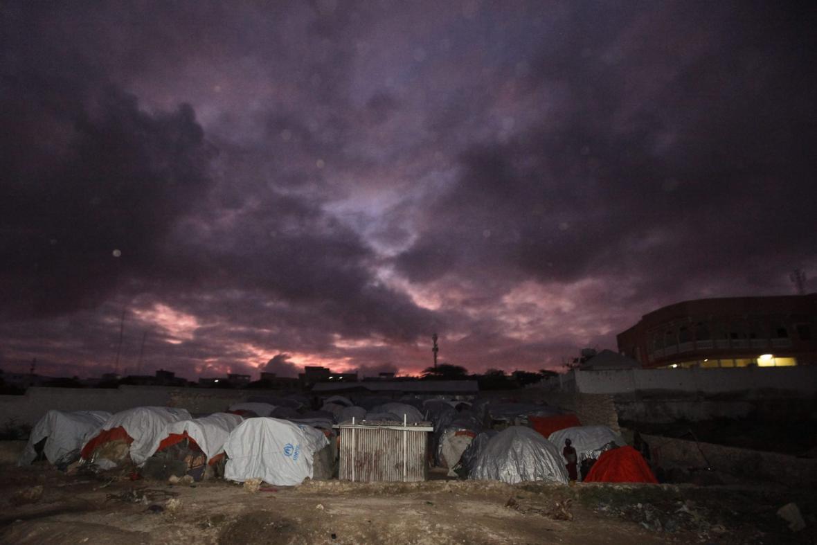 Uprchlický tábor v Somálsku