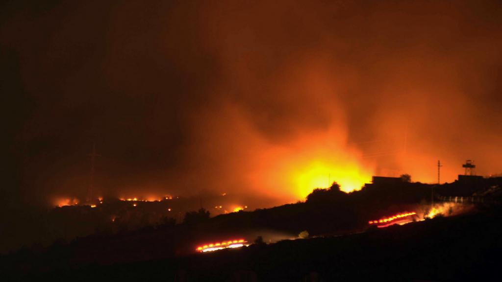 Výbuch muničního skladu v Turecku