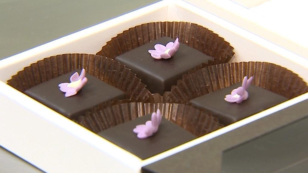 Sladkosti z Muzea čokolády a marcipánu v Táboře