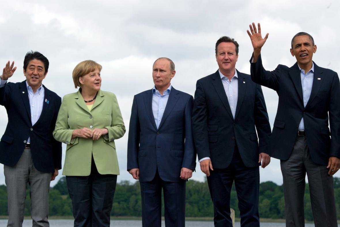 Summit G8 v Severním Irsku