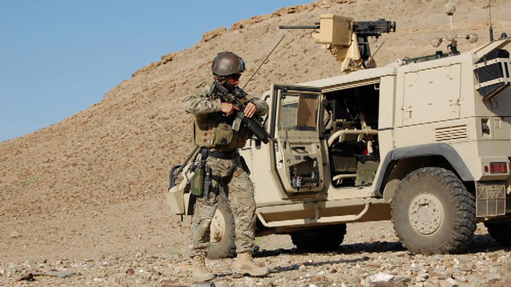 Činost speciálních sil v Afghánistánu