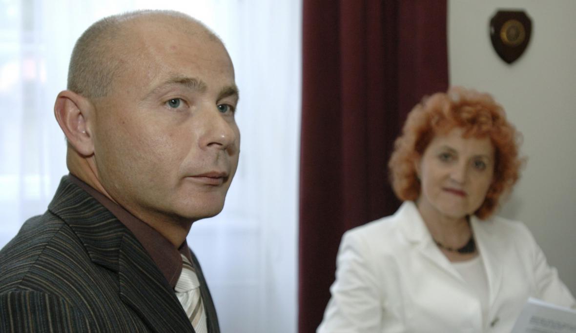 Ondrej Páleník a Vlasta Parkanová