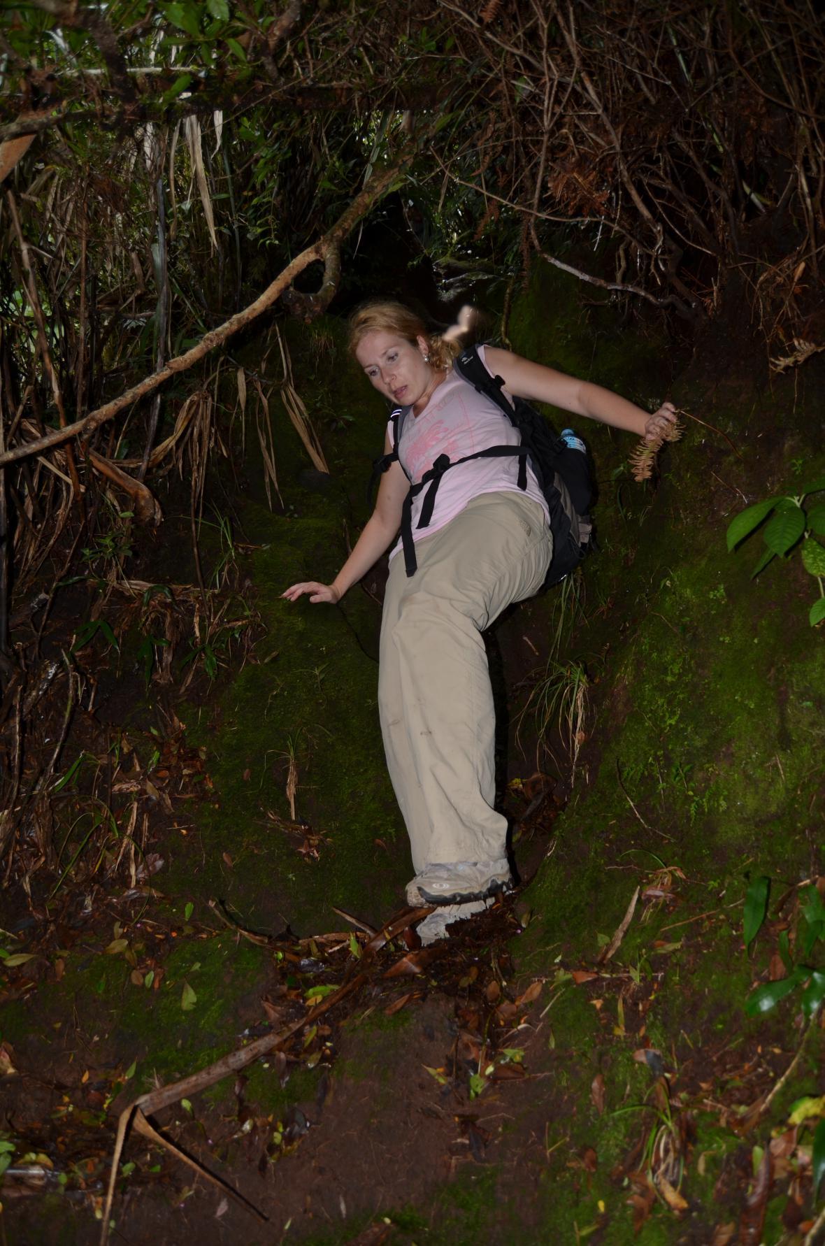 Ivana Šmelová zdolala sopku na Filipínách