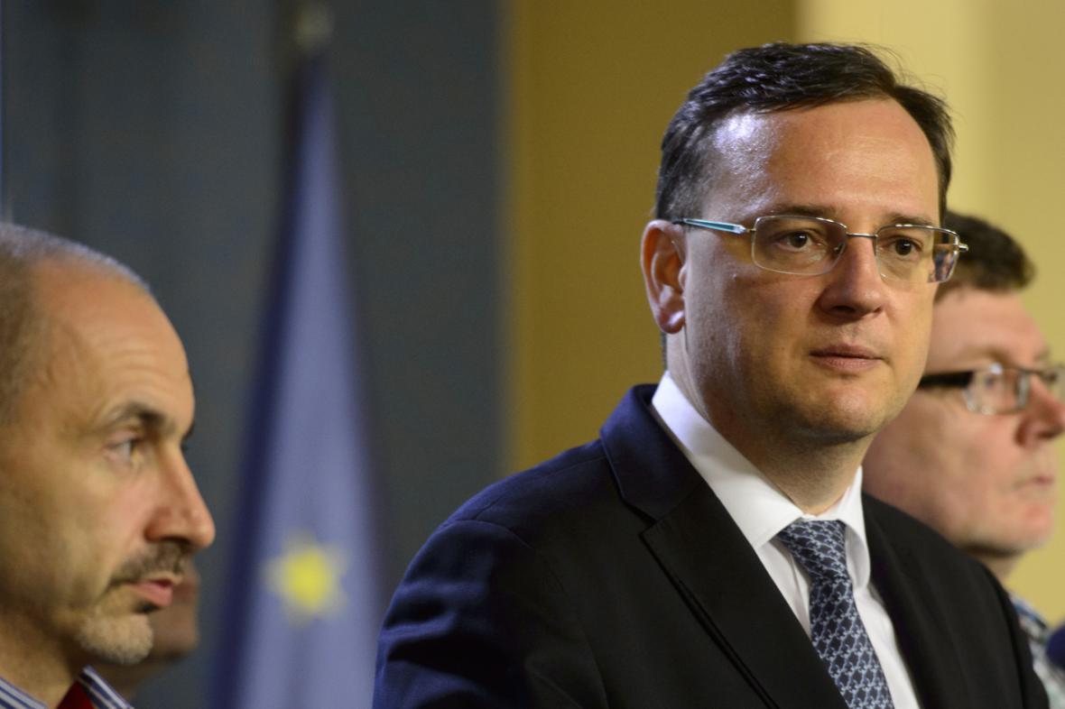 Petr Nečas a Martin Kuba