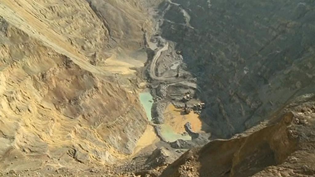 Těžba kovů v Srbsku