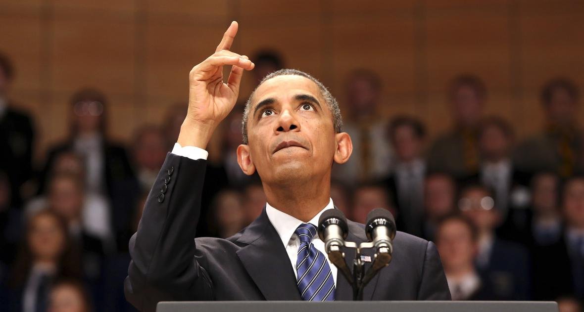 Barack Obama na summitu G8